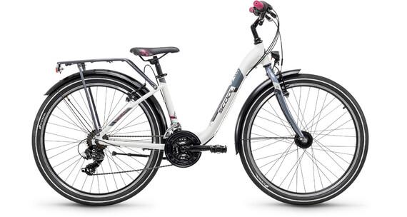 s'cool chiX 26 21-S - Vélo junior Enfant - alloy blanc